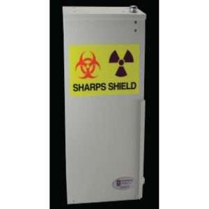 Lead Lined Dual Sharps Unit