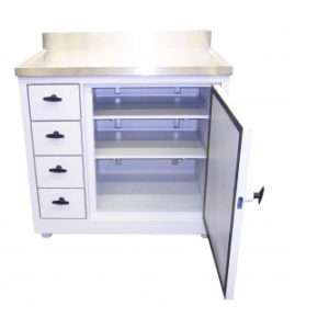 Four Drawer Work Station