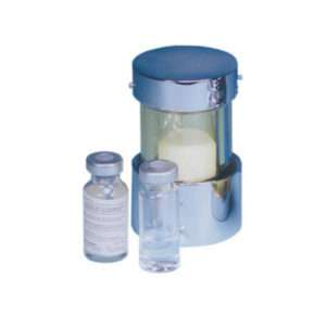 High Density Lead Glass Vial Shields