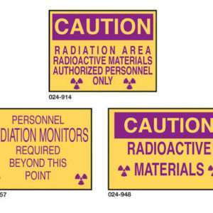 Plastic Caution Signs