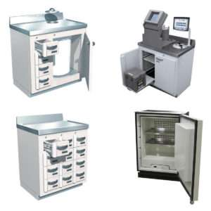 Lead-Lined Laboratory Furniture