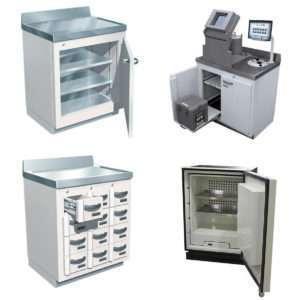 Lead-Lined Laboratory Furniture