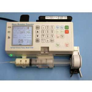 Infusion Pump and Tubing