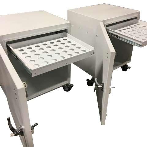 Cardiac PET Mobile Storage Cart/Table