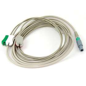 NORAV ECG USB1D 3 Lead ECG Cable with Round Connector